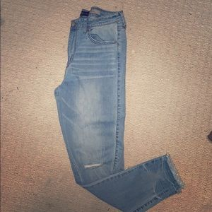 Aeropostale NYC High Waisted distressed Jegging